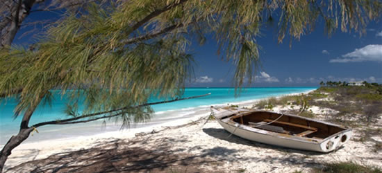 Incredible Caribbean Turquoise Water Colours