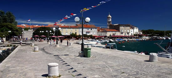 Krk Harbour Waterfront