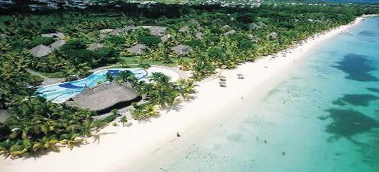 Aerial Photo of Mauritius