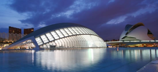 LiHemispheric and the Palau de Arts, Valencia