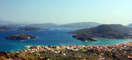 The Island of Lefkas