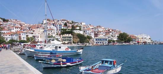 Local Fishing Boats of Skiathos
