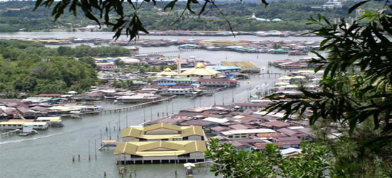The Water Villages of Borneo