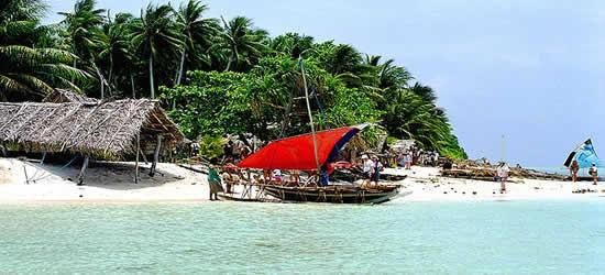 An Island Paradise of the New Guinea Coast