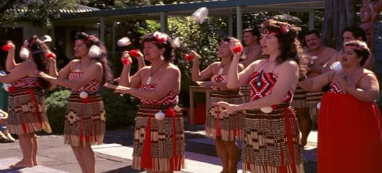 Traditional Maori Dancers