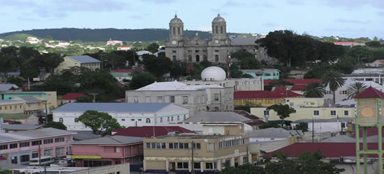 The Capital of Antigua, St Johns