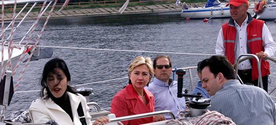 Hilary Clinton on Charter, Summer 2004