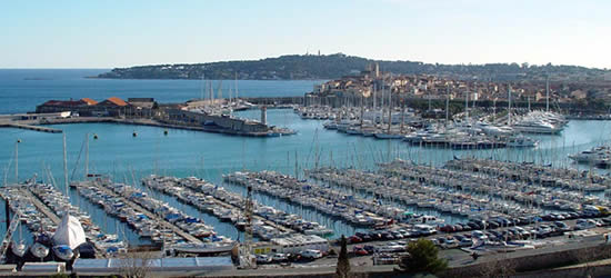 The Port of Antibes