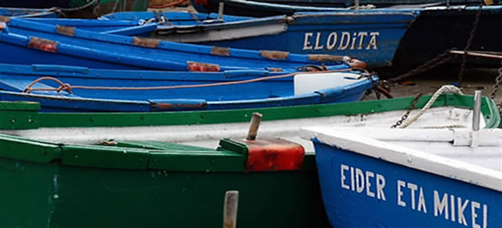 Basque Fishing Boats, Spain