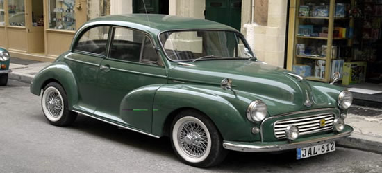 The Classic Morris Minor