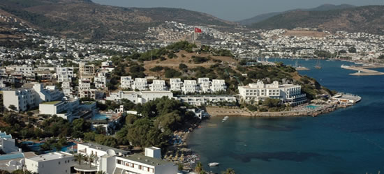 Elevated view of Bodrum