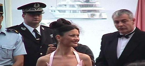 Catherine Zeta Jones at the Cannes Film Festival