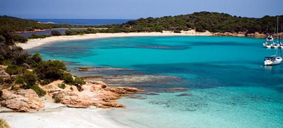 A very remote beach in Corsica