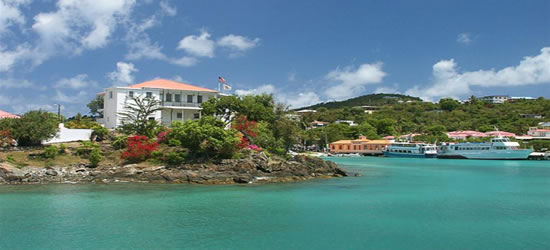 Cruz Bay, St John, USVI