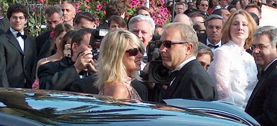 Kevin Costner at the Film Festival