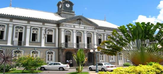 Rathaus, Martinique