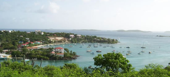 Cruz Bay, St John, US Virgin Islands