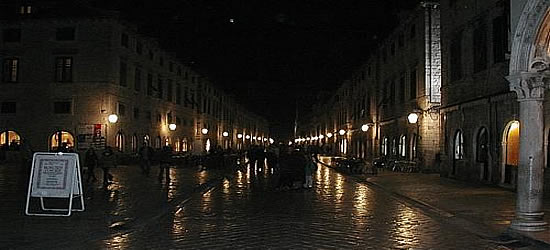 Town Centre at Night