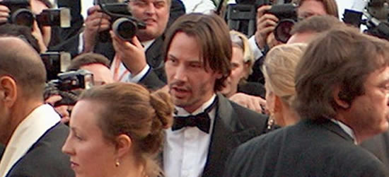 Keanu Reeves at the Festival of Films, Cannes