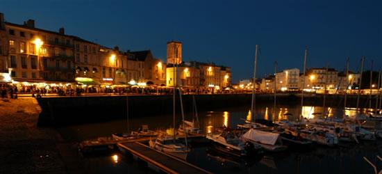 La Rochelle at Twilight