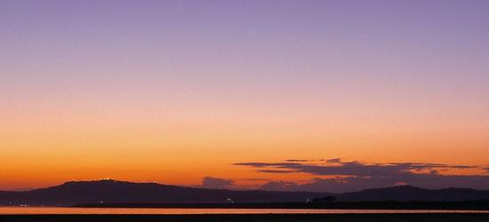 Tangyi Taung Mountains Sunset