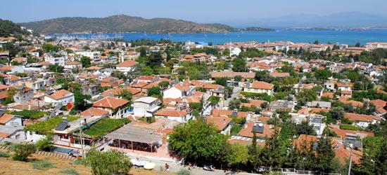 Rooftops of Fethiye
