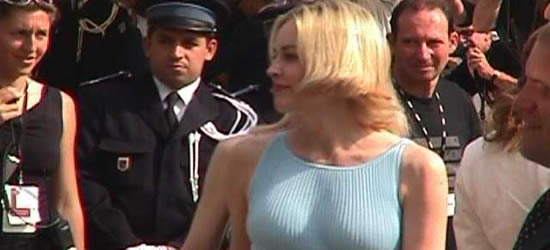 Sharon Stone at Cannes