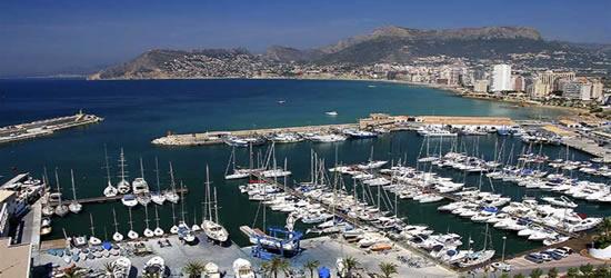Views of the Port of Denia