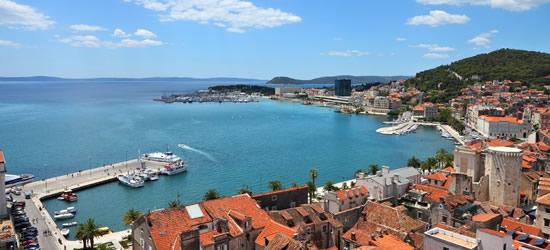 Cityscape of Split