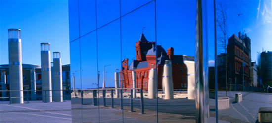 Reflections, Cardiff Bay