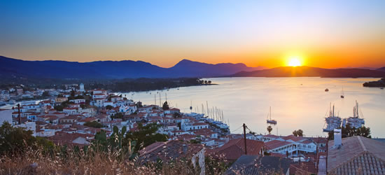Poros, the Island of Sunsets