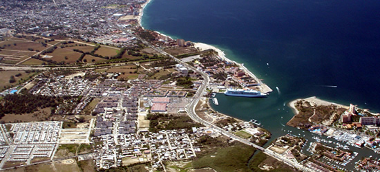 Aerial view of PV