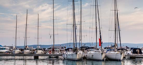 The Port of Baska Voda