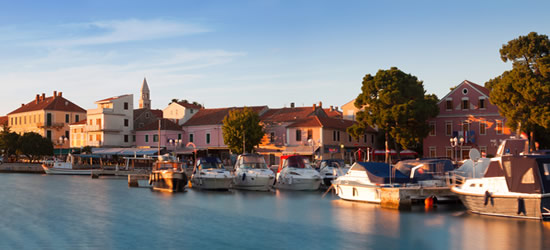 The Port of Biograd na Moru