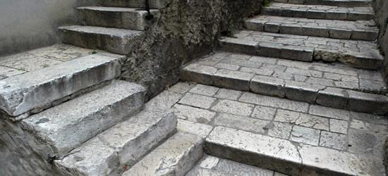 Stone Staircase, Sibenik