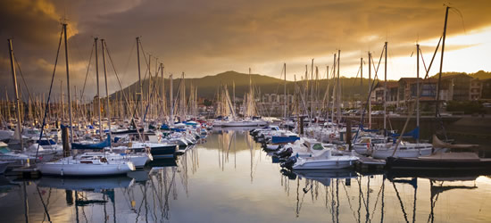 The Port of Hendaye, Pays-Basque