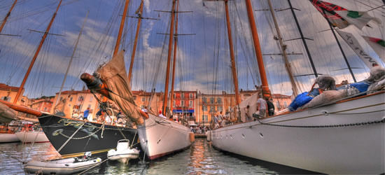 Classic Yachts of St Tropez