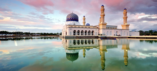 Kota Kinabalu Floating Mosque, Malaysia