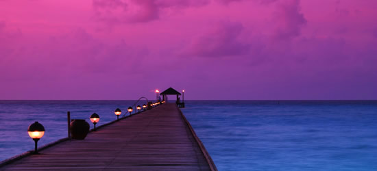 Crimson Sunset, Maldives