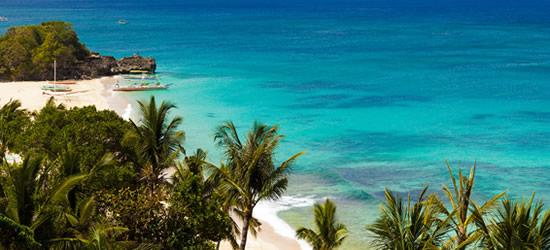 The Beautiful Waters of Boracay Island, Philippines