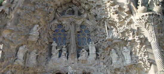 Gaudi's La Sagrada Famiglia, Barcelona