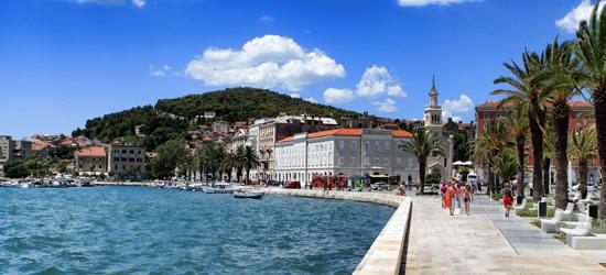 The Promenade of Split