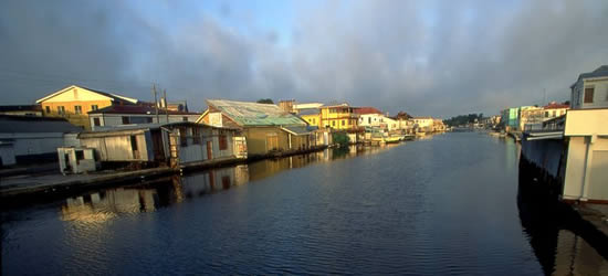 Dawn, Belize City