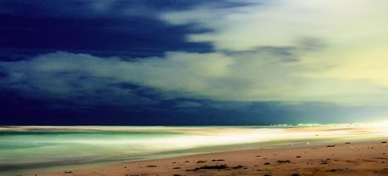 The Beach at Twilight
