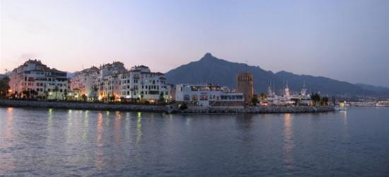Panoramic Shot of the Port