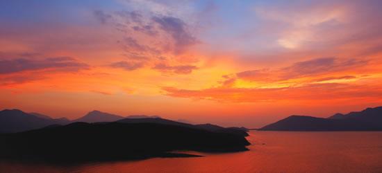 Multi-coloured Sunset