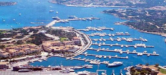Aerial view of Porto Cervo