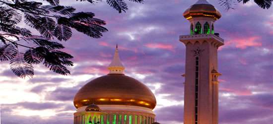 Colours of Brunei