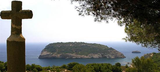 Island just of the Coast of Denia
