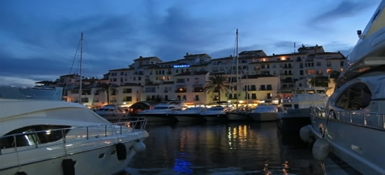 Twilight, Puerto Banus
